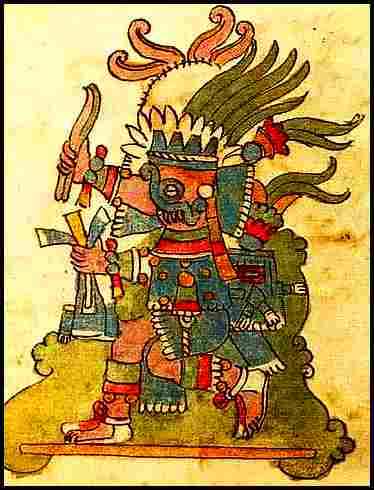 Aztec God Sacrifice