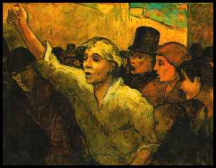 The Uprising - Honore Daumier